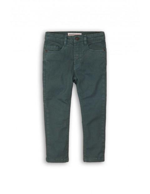 Spodnie chłopięce - zielone