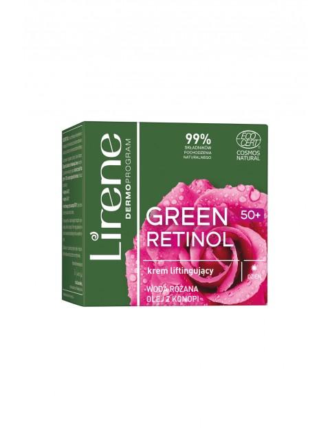 Lirene Green Retinol 50+ Krem liftingujący na dzień 50ml