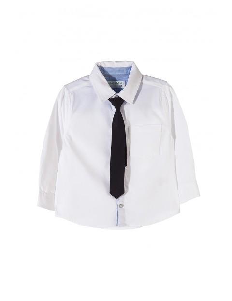 Koszula chłopięca z krawatem