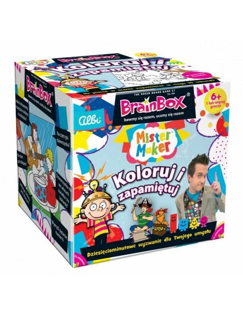 BrainBox Pan Robótka Koloruj i zapamiętuj