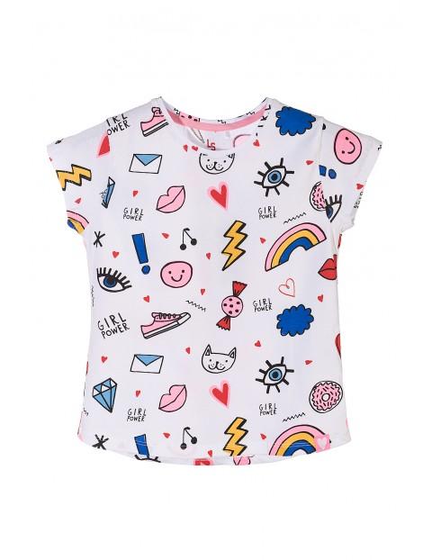 Koszulka dziewczęca 100%bawełna 4I3602