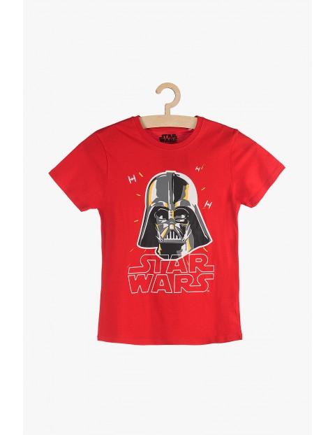 T-Shirt chłopięcy czerwony - Star Wars