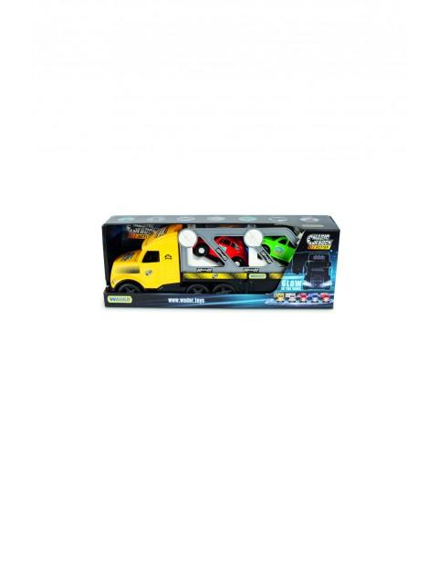 Laweta Auta Retro Magic Truck ACTION- świecący w ciemności 3+