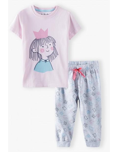 Piżama bawełniana dla dziewczynki