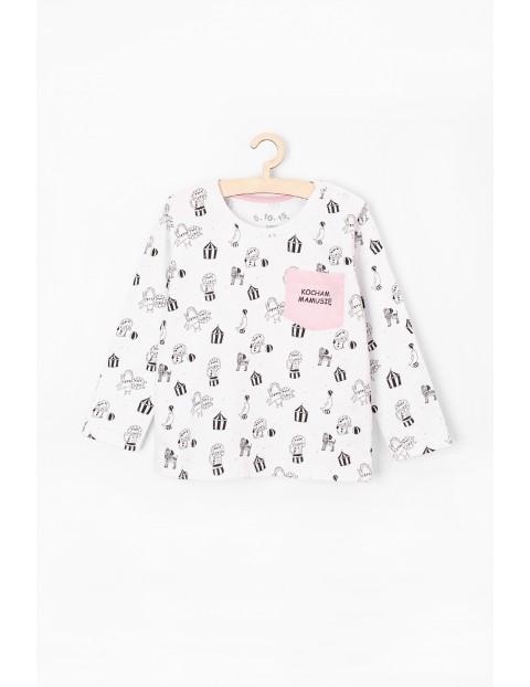 Bluzka niemowlęca bawełniana-kocham mamusię