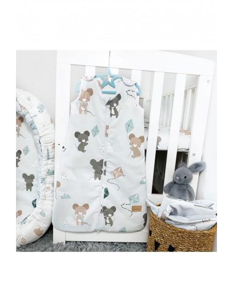 Śpiworek niemowlęcy  do spania Latamyszki 0-8 msc