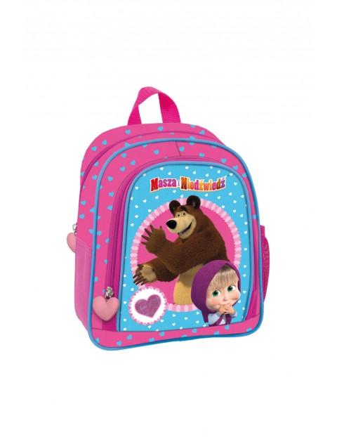 Plecak szkolny Masza i Niedźwiedź 3Y35AH