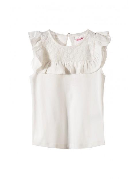 T-shirt dziewczęcy 4I3415