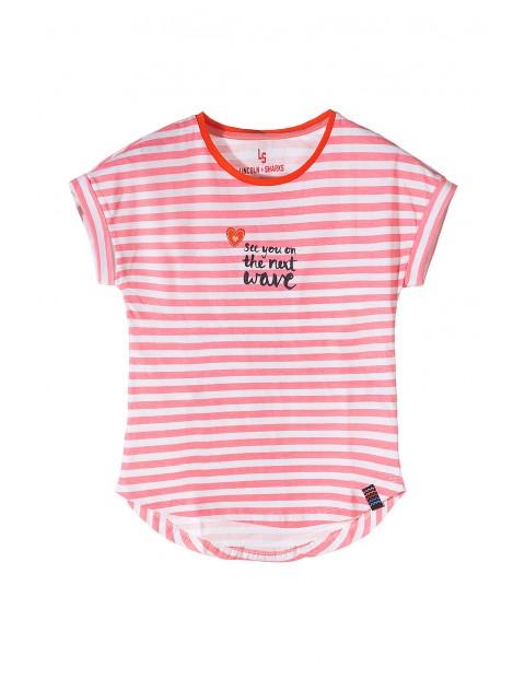 T-shirt dziewczęcy 4I3420