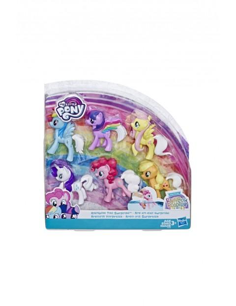 My Little Pony Tęczowa przemiana 6-pak 3+