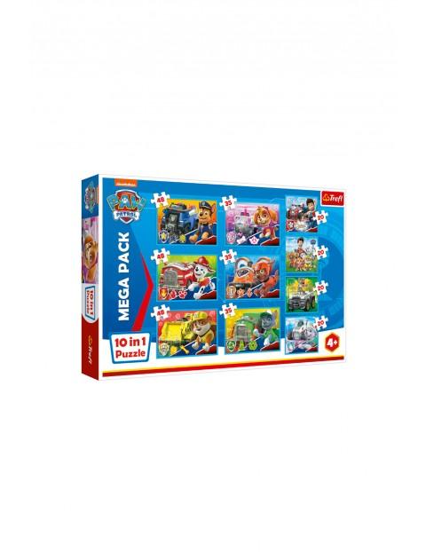 Puzzle Psi Patrol 10w1 - Ekipa Psi Patrol 4+