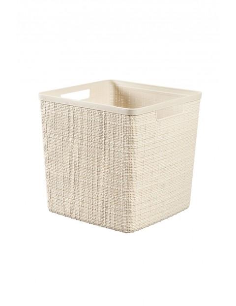 Koszyk kwadratowy dł. 28cm x szer. 28cm x wys. 27 cm