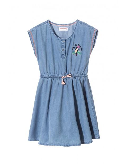 Sukienka dziewczęca 100% bawełna 4K3415
