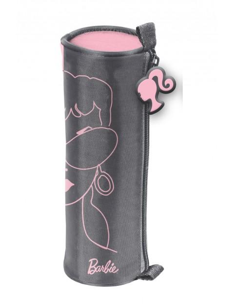 Piórnik tuba Barbie różowy