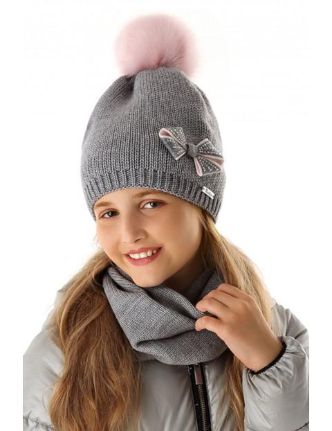 Komin zimowy dla dziewczynki 4X35AW