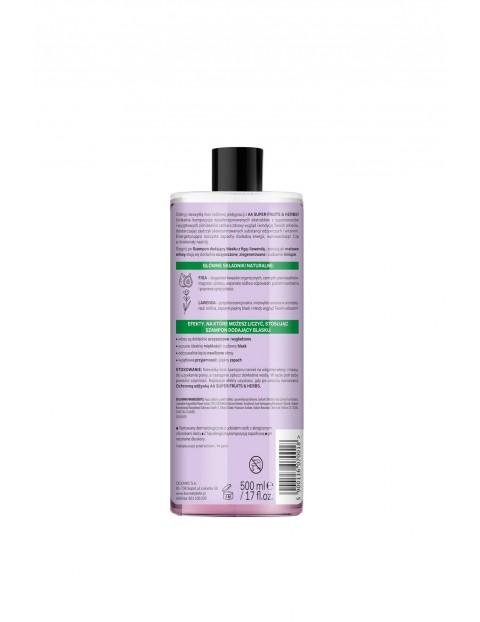 AA Super Fruits&Herbs szampon dodający blasku włosy farbowane figa&lawenda 500 ml