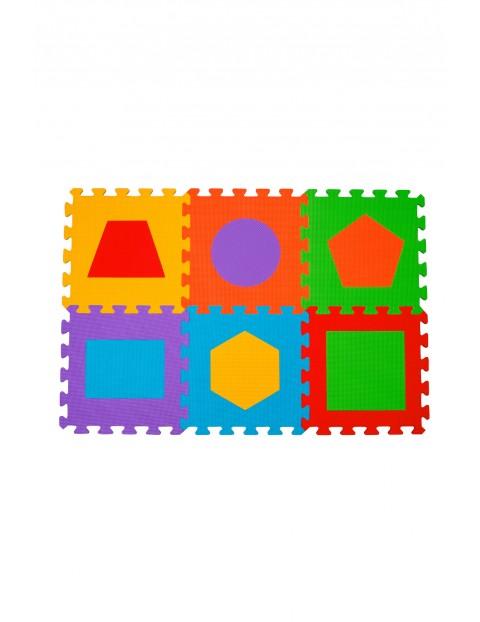 Puzzle piankowe figury 6szt