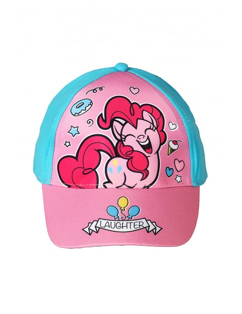 Czapka dziewczęca z daszkiem Kucyk Pony- Applejack