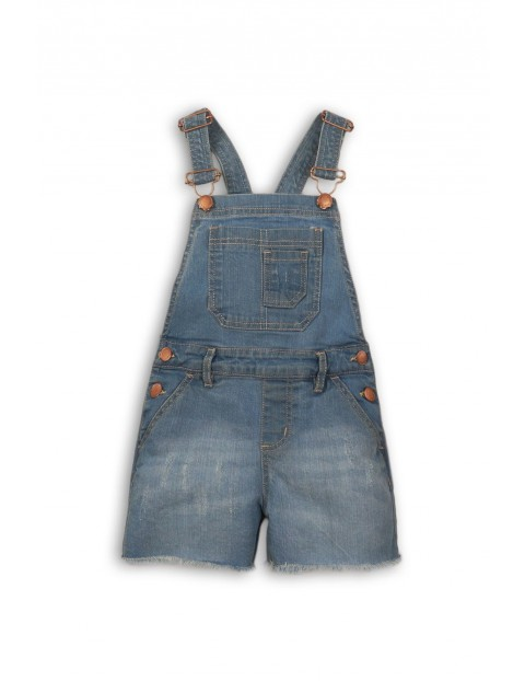 Ogrodniczki niemowlęce jeansowe