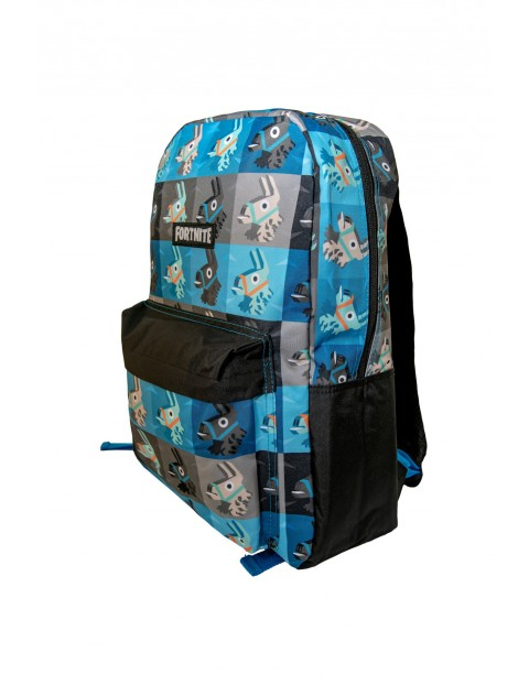 Plecak Fortnite niebiesko-czarny