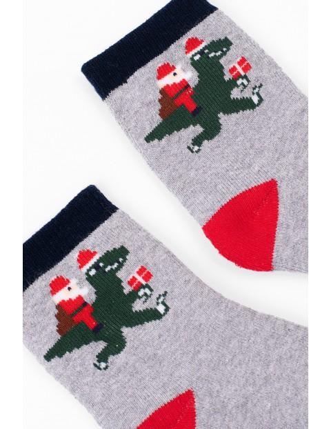 Skarpety z zabawnym świątecznym motywem