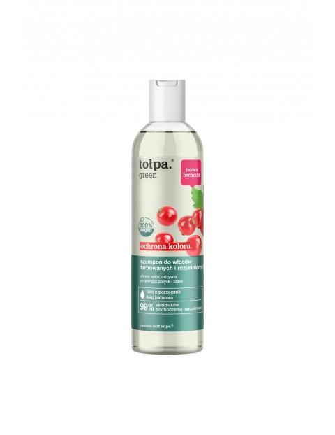 Tołpa green ochrona koloru - szampon do włosów farbowanych i rozjaśnianych 300 ml