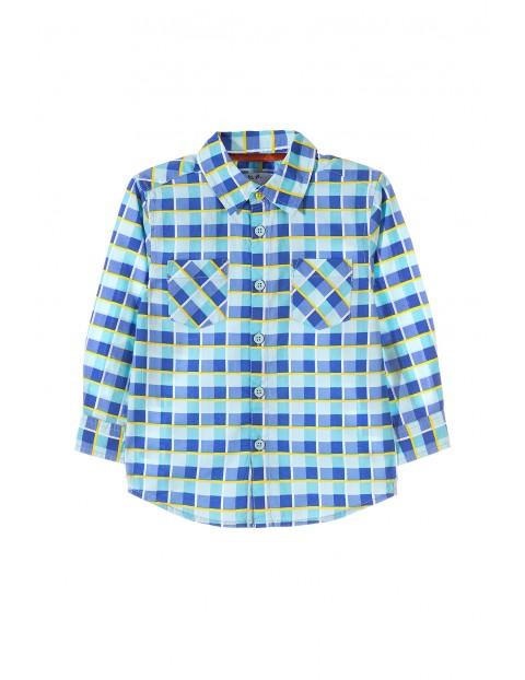Koszula chłopięca w kratę 1J3402