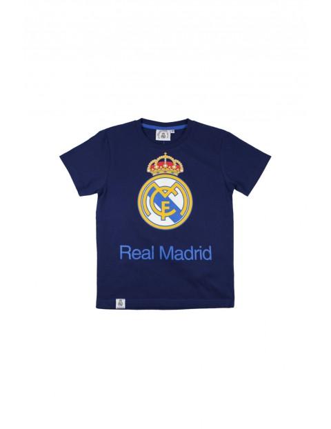 T-shirt chłopięcy Real Madryt 2I34AZ
