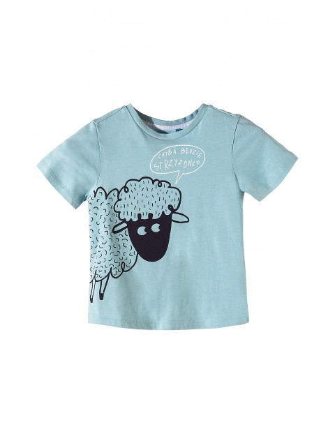 Koszulka chłopięca bawełniana