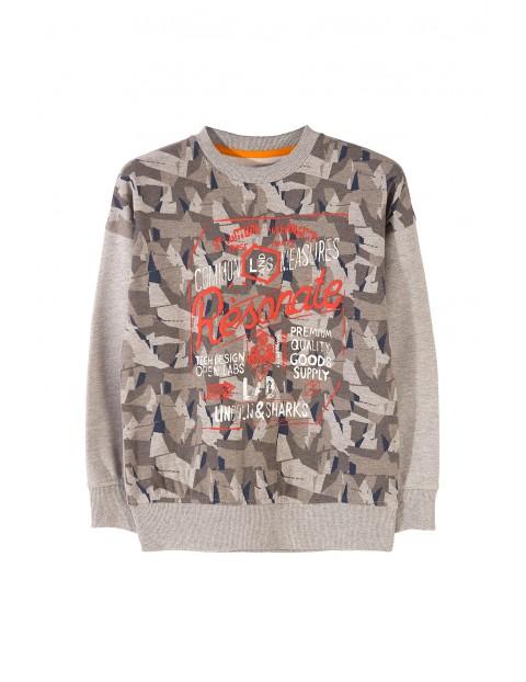 Bluza dresowa chłopięca 2F3305