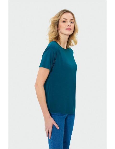 T-shirt dla kobiet- zielony