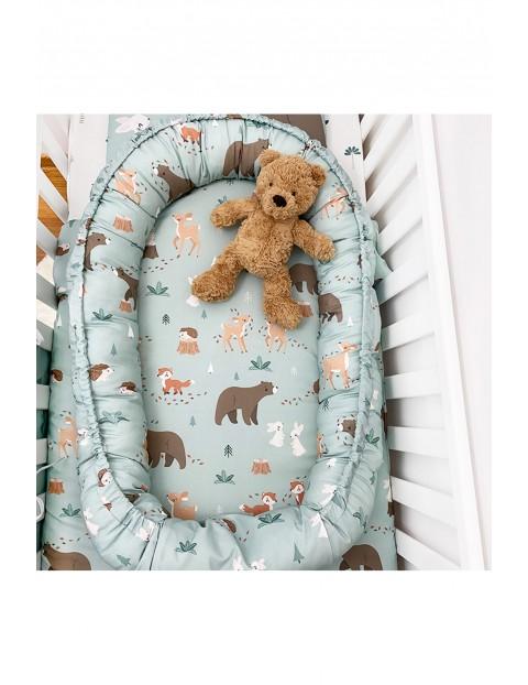 Kokon niemowlęcy Leśni Przyjaciele 55x90 cm