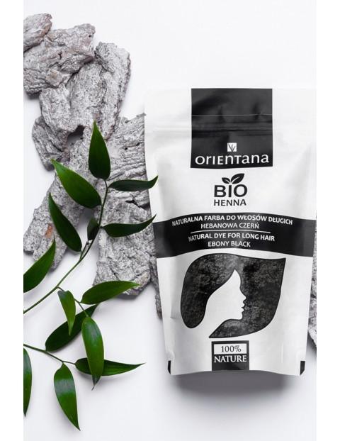 Orientana BIO Henna do włosów HEBANOWA CZERŃ 100g