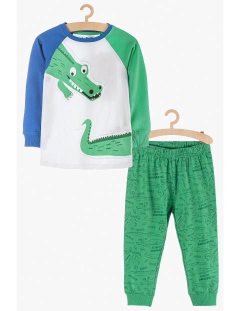 Pidżama chłopięca w krokodyle
