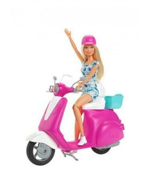 Barbie - Lalka ze skuterem wiek 3+