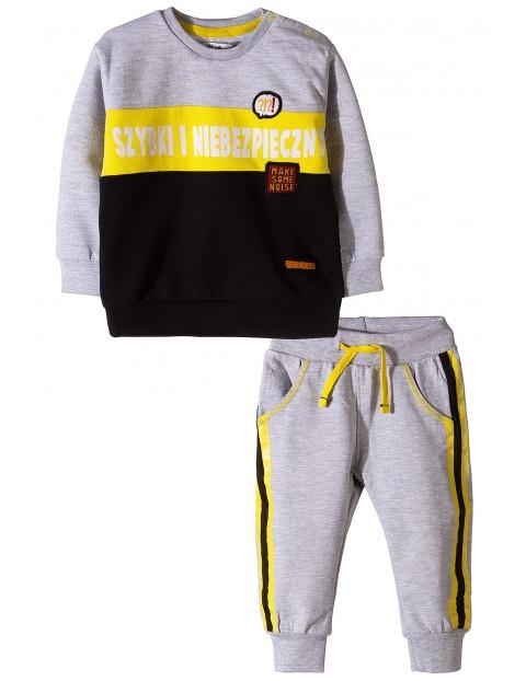 Komplet dla niemowlaka - bluza dresowa i spodnie