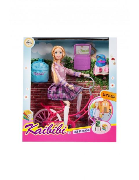 Lalka z rowerem- plecak i akcesoria Mega Creative  3+