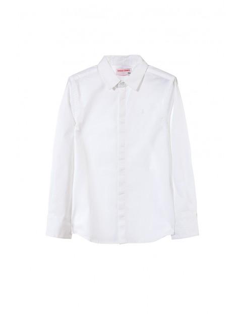 Koszula chłopięca biała 2J3508