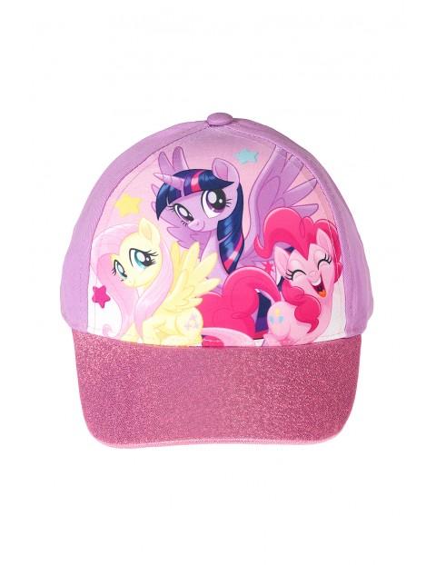 Czapka z daszkiem dla dziewczynki Kucyk Pony