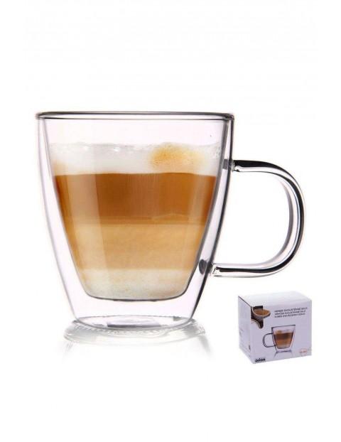 Szklanka termiczna do kawy z podwójną ścianką 180ml