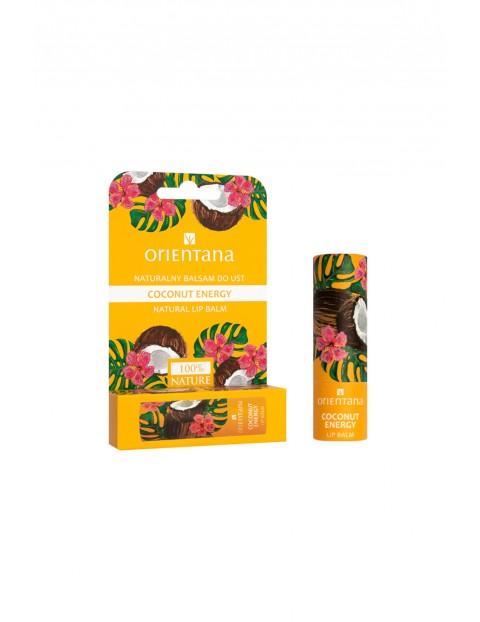 Orientana Naturalny balsam do ust Coconut Energy 4,2 g