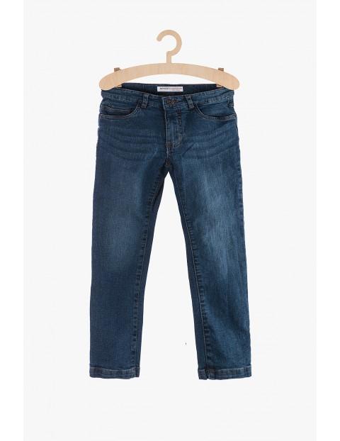 Jeansy dla chłopca niebieskie klasyczne