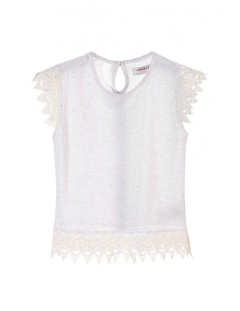 T-shirt dziewczęcy 4I3441