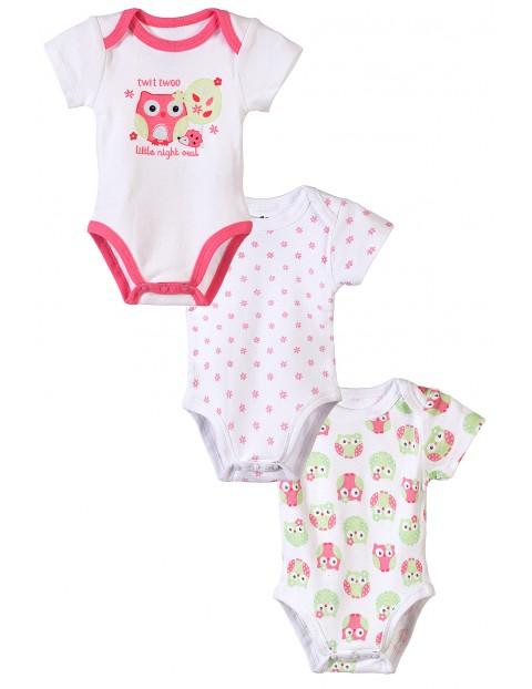 Body niemowlęce 3pak 5W3434