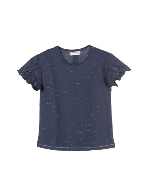 T-shirt dziewczęcy 4I3460