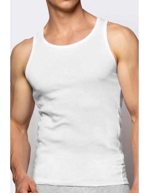 Podkoszulek męski biały ATLANTIC
