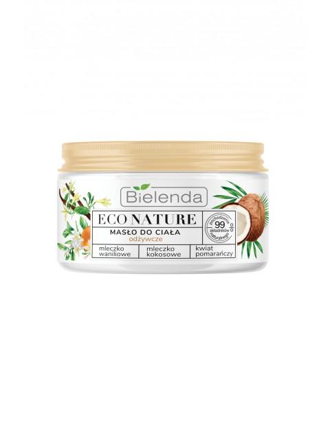 ECO NATURE - Mleczko waniliowe + Mleczko kokosowe + kwiat pomarańczy - masło odżywcze do ciała  250 ml