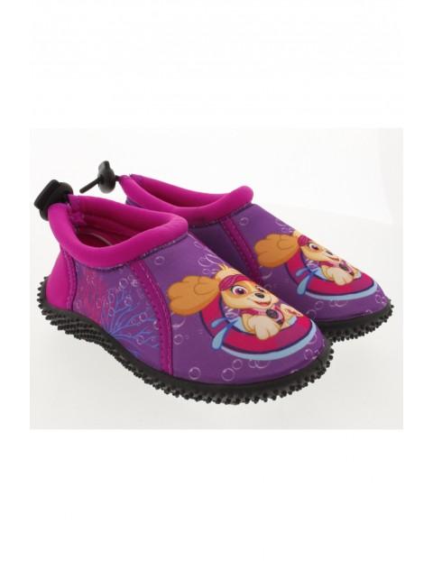 Buty do wody Psi Patrol fioletowo-różowe