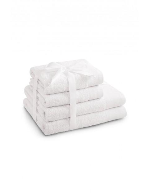 Zestaw białych ręczników bawełnianych AMARI 4 sztuki