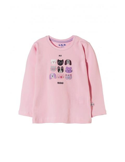 Bluzka niemowlęca dzianinowa 5H3516
